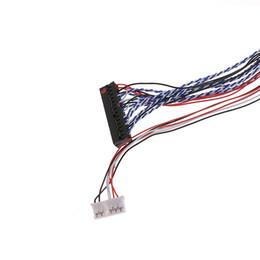 Новый 2017 для I-трубы PEX 20453-040T-11 кабель 40-контактный 2-канальный 6bit LVDS для 10.1-18.4-дюймовый светодиодный ЖК-панель горячая распродажа от