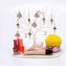 Wholesale necklace tree holder - Earring Necklace Bracelet Pendant Stand Display Rack Jewelry Holders Showcase Organizer tree shaped