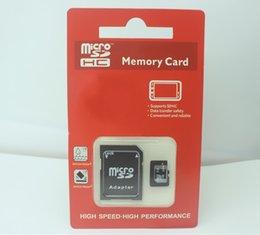 Wholesale Camera Sdhc Card - New Packaging Camera Memory Card 64GB 36GB 128GB Micro SD SDHC Class 10