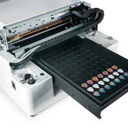 Wholesale Printer Glass - small flatbed printer for phone case card wood metal digital A3 glass uv printer
