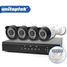 Wholesale Network Cctv Kit - CCTV 4CH 1.0MP IP Camera Security System Network Support POE NVR Kit home video surveillance 4 Channel 720P CCTV POE NVR System