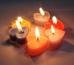2019 cadeaux de mariage en gros En gros en forme de coeur bougies bougies parfumées décoration de mariage cadeau de Saint Valentin cadeau de mariage romantique bougies en cire de paraffine cadeaux de mariage en gros pas cher