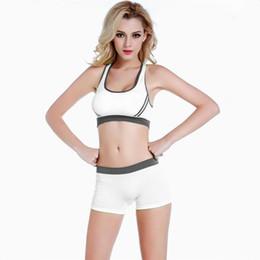 Tide Women Gym Trainingsanzüge Fitness Yoga Sport BH und Boxershorts Unterwäsche Anzüge Sets Cute pink weich Elastic Shockproof schnell trocknend von Fabrikanten