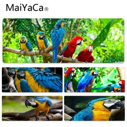 Wholesale amazing for sale - MaiYaCa Hot Sales Amazing Parrot Wide Durable Rubber Mouse Mat Pad Size for 30x60cm 30x70cm 30x80cm 30x90cm 40x90cm