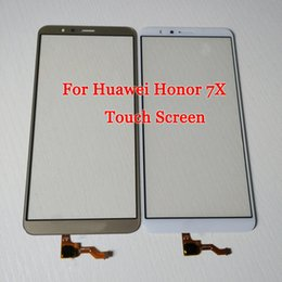 parts for huawei Coupons - For Huawei Honor 7X Outer Glass Lens with Digitizer Replacement Part for Honor 7X Touch screen Front Screen Glass Cover 7 X With Tools