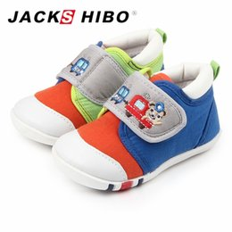 Wholesale Kids Sneakers For Wholesale - JACKSHIBO Infant First Walk Shoes Canvas Kid Shoes Casual Walker for Boys Girls Comfortable Child Sneakers Kids Toddler