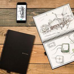2019 mini livro de anotações bonito Elfinbook 2.0 Apagável Notebook Reutilizável Notebook Inteligente Onda de Microondas Nuvem Apagar Notepad Forrado Com Caneta DHL 0413015