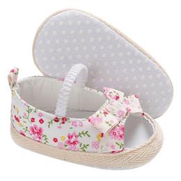 993a8008e03963 Sommer Baby Mädchen Bowknot Schuhe Neugeborenen Casual Princess Casual  Schuhe Sneaker rutschfeste Weiche Sohle 0 ~ 18 Monat