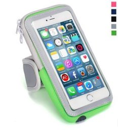 Wholesale Music Bowl - Sports outdoor arm bag with fitness running music touch screen mobile phone arm package universal all models.