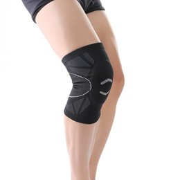 Wholesale Building Bracing - New Style 3d Weaving Knee Support Built -In Eva Foam Pad Sports Fitness Cycling Hiking Knee Protect Brace Sports Safety