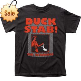 fc307fdf86e52 pato camiseta Desconto 2018 New Arrivals Authentic Os moradores Duck Stab!  1978 Álbum Recorde Capa