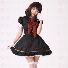 61e2e65e2be0 black lolita cosplay dress Canada - Shanghai Story High Quality Girls Women Lolita  Dress Maid doll