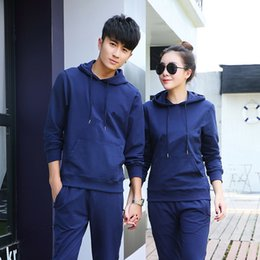 Wholesale Friends Hoodies - Brand Designer Luxury Mens Womens Tracksuits Hoodies+Pants New Fashion Casual Couple Best Friend Running Sports Active Sets High Quality