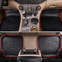 Car-pass Tapis de sol universels de voiture pour tapis anti-dérapant automatique rouge noir Tapis de sol de voiture styling intérieurs tapis de sol auto ? partir de fabricateur