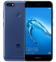 huawei salire i telefoni dual sim Sconti Huawei Enjoy 7 Quad Core 16G / 32GB ROM 5.0 pollici Android 7.0 4G LTE Firmware Cellulari sbloccati