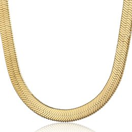 Wholesale gold plated figaro chain - Classic Figaro 18K Yellow Gold Filled Chain For Men Snack Curb Cuban Chains Heavy Jewelry 11MM Choker Hip Hop Miami Rope Rapper FreeShipping