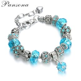 Wholesale Christmas Mail - 2017 fashion alloy mail eye bracelet DIY jewelry accessories wholesale detonation model