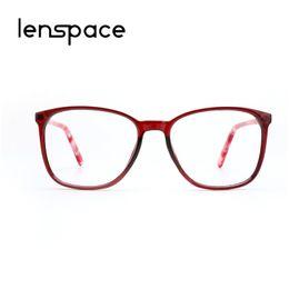 Acetato Mujeres Marco de Lentes Retro Cuadrado Grande Ordenador Lente Clara  Vintage Transparente Lady Glasses Frames Para Mujer   8205 marcos femeninos  ... 781ff24c9d52