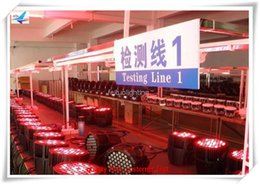 Wholesale 54 Led Par Lights - (2 lot) outdoor 54*3w stage light 54x3 rgbw ip 65 waterproof 54x3w par can led par light