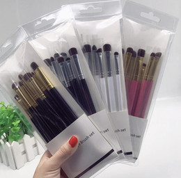 Wholesale Horse Brushes Wholesale - Seven horsehair smoky eye shadow brush makeup brush.