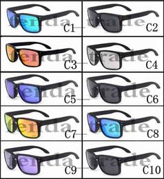 Options lunettes en Ligne-promotion VENTE CHAUDE Marque polarisée Lunettes De Soleil Hommes Femmes Sport Lunettes De Vélo Lunettes De Protection Lunettes 10 couleurs options MOQ = 10