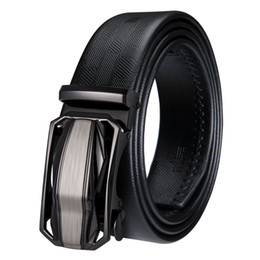 020b6fbd5 Luxury Cowhide Genuine Mens designer belts Leather Belt with Automatic  Buckle Ratchet Belt Strap Black Leather Belt 2018 new arrival DK-2027  leather ratchet ...