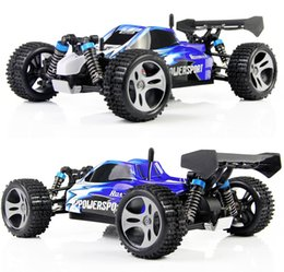 Wholesale Wltoys Rc Buggy - Wltoys A959 2 .4g Radio Remote Control Rc Car Kid Toy Model Scale 1 :18 New Shockproof Rubber Wheels Buggy Highspeed Off -Road