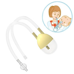 Wholesale Straw Suction - New Born Baby Safety Nose Cleaner Vacuum Suction Nasal Aspirator Nasal Snot Nose Cleaner Baby Care High Quality Nose Cleaner Vacuum