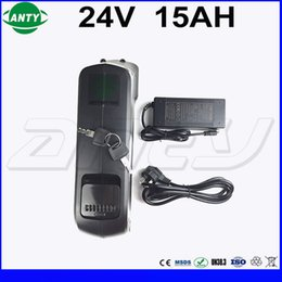 Wholesale 24v bicycle - eBike 24v 15Ah Lithium Battery 350w Built in 15A BMS with 29.4V 2A Charger 24v Electric Bicycle Battery with USB Free Shipping