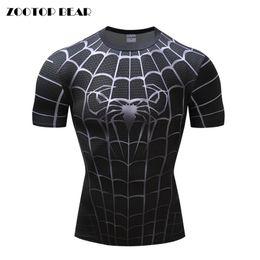 Chemises à manches longues super-héros en Ligne-2018 3D Print t-shirts Homme Chemises de compression Superhero Tops fashion T-shirts manches courtes Crossfit