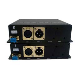 2019 serie di alimentatori 1port Forward Balanced Audio + 1port Ricetrasmettitore audio bilanciato su fibra, connettore XLR, ricetrasmettitore audio bilanciato bidirezionale