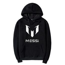 9b2e94d0f Chinese Messi Hoodies Sweatshirts Coat Black Unisex Football Fan Messi Pullover  Sweatshirt Messi Jacket Plus Size