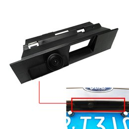 Wholesale Rear View Camera For Ford - CCD Night Vision Special Car Rear View Camera For Ford Mondeo 2014 2015 2016 2017 Trunk Handle Camera