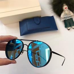 Top Quality doux V Marque Corée mode oculos grand Round Cadre Vintage hommes lunettes de soleil femmes lunettes de soleil monstre Come With Case occhiali ? partir de fabricateur