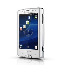 Сотовые телефоны mini wifi онлайн-Восстановленный оригинальный Android Sony Ericsson Xperia Mini ST15i ST15 сотовый телефон 3G GSM WIFI GPS 5MP