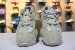 Wholesale Lace Up Waterproof Boots Low - Wholesale Boost 500 Blush Desert Rat Kanye West Wave Runner 500 Sneakers Running shoes Athletic Sneaker Outdoor boots