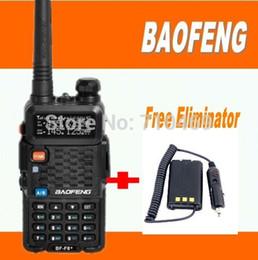 rádio portátil de banda dupla uhf vhf Desconto DHL FreeShipping + Baofeng BF-F8 + midland walkie talkie dual band vhf uhf rádio portátil conjunto com eliminador de carregador de carro para uv 5r