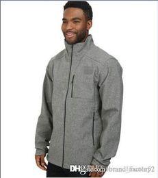 Wholesale Fleece Suit Jacket - HOT AAA North Men SoftShell Fleece Apex Bionic Jackets Outdoor Casual Windproof Face Warm Ski Coats Mens Fleece Soft Shell Womens Kids Suits