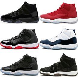 sports shoes 6b447 6f0a7 11 Prom Night Men Basketball-Schuhe Ostern Gym Red Midnight Navy PRM Erbin  Barons Closing Concord Zeremonie 11S Fashion Sport Sneakers rabatt  goldzeremonie