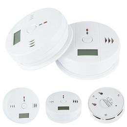 alarma de gas para el hogar Rebajas Sensor de Gas de Monóxido de Carbono CO Monitor de Alarma Poisining Detector Probador Para la Seguridad En El Hogar Vigilancia de Alta Calidad buena calidad