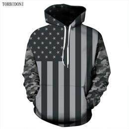 Wholesale Tracksuits Men Usa - Hip Hop Moletom Hoodies Brand Men USA Flage Printed Sweatshirt Male Tracksuit Hoody Autumn Spring Hoodie Mens Pullover EUR Size