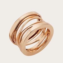 Обручальные кольца мужчины золото онлайн-Высокое качество мужские 316L Титана стальные кольца 18K золото серебро обручальное кольцо для женщин мужчины обручальное ювелирные изделия
