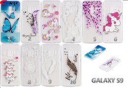 Ericsson xperia on-line-Unicorn Butterfly Flower Soft TPU Case For Samsung Galaxy S9 Plus Sony Xperia L2 XA2 Ultra Huawei Enjoy 7S Honor 9 Lite Feather Horse Cover