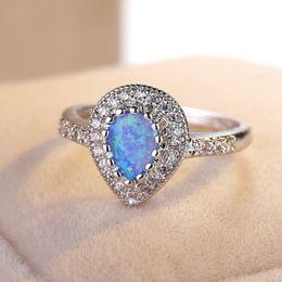 Rabatt Opal Diamant Verlobungsringe 2018 Opal Diamant