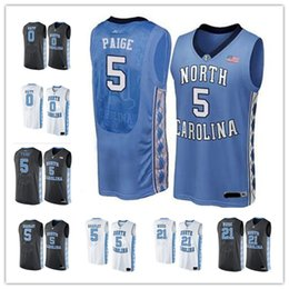 Wholesale Army Heels - NCAA College North Carolina Tar Heels Jerseys 0 Nate Britt 5 Marcus Paige 21 Seventh Woods 24 Kenny Williams 5 Tony Bradley with player name