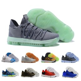 201a6ab460f China 2018 ZOOM KD 10s EP Top Quality Kevin Durant X mens Basketball Shoes  New Hot