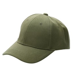 e1f874fec0c Hot Men Women solid Plain Golf sport Cap Unisex Curved Visor Hat Hip-Hop  Adjustable Peaked Hat Visor Sport Sun Protect Caps