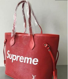 Wholesale plain cotton shopping totes - Free shipping 2018 newest famous brand freeshipping fashion 2017 newest brand Bags Women Handbag Large Shoulder Bags shopping Bags Bolsa A2