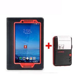 Lanzamiento X431 V X 431 PRO 8inch WiFi / Bluetooth Sistema completo Herramientas de diagnóstico compatibles con la codificación del inyector Clave de codificación 2 años de actualización gratuita desde fabricantes