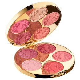 Wholesale high quality cosmetics - Newest Blush Bazaar Makeup Blush Palette 10 Color Highlighters Cheek Contour Cosmetic and High Quality Natural Free Shipping